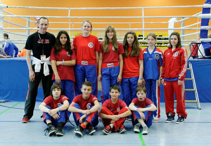 Erfolgreiches BDT Team (Jugend / Erwachsene) mit 3x Gold, 2x Silber, 7x Bronze, und vier 5. Plätzen