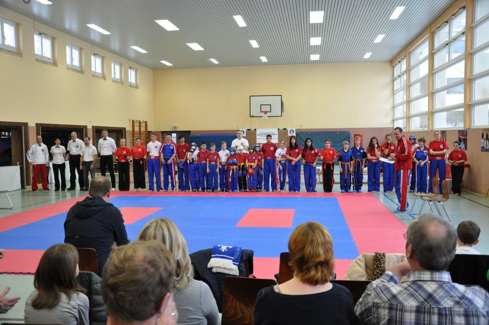 Eröffnung des 6. BDT Kinder-und Jugendturnier 2012