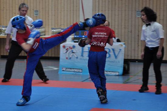 Jan (links) und Vladislav kämpfen am 2.Kampftag um den Tagessieg
