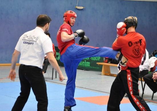 Konrad (links) mit Kick