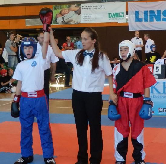 Jaro (links) gewinnt Gold