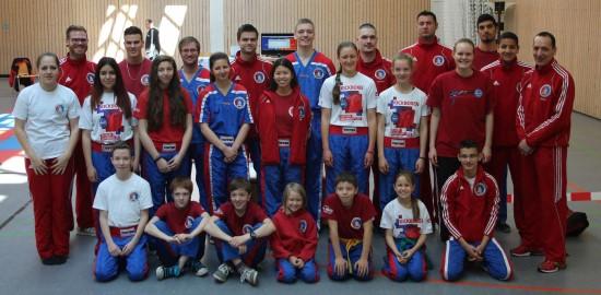 Erfolgreiches BDT Team – 8x Gold, 8x Silber, 7x Bronze, 1x 4. und 1x 5. Platz