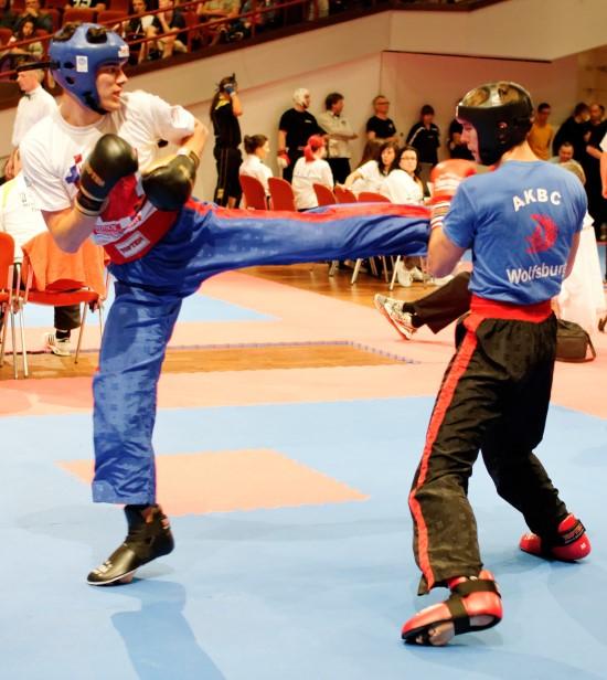 Karim (links) gewinnt Bronze