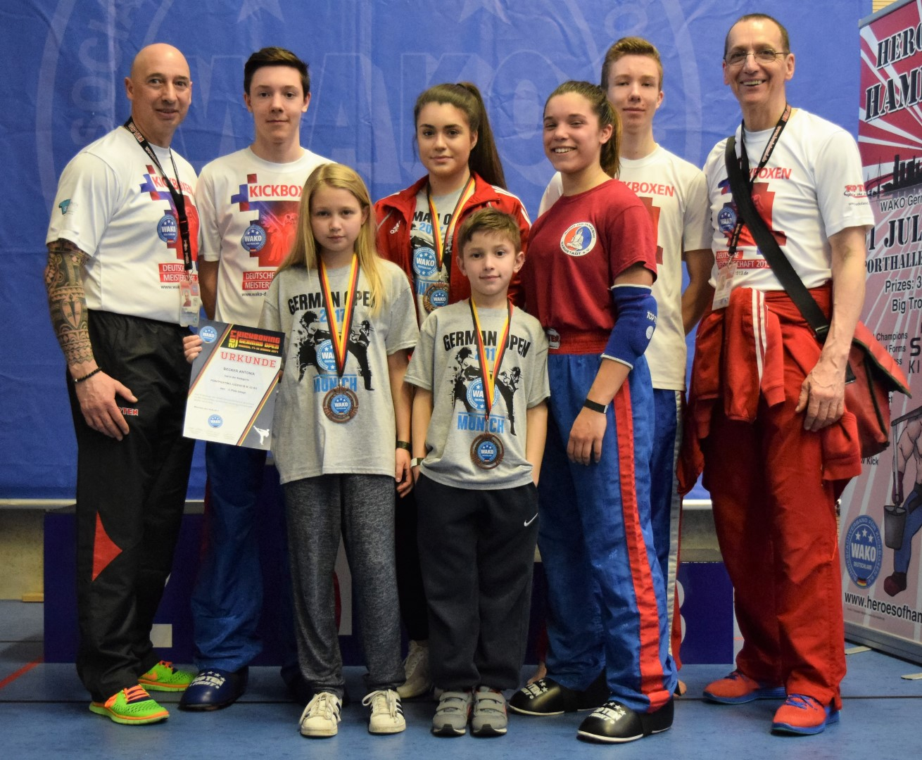 BDT Point Fighting Team – 1x Silber und 5x Bronze