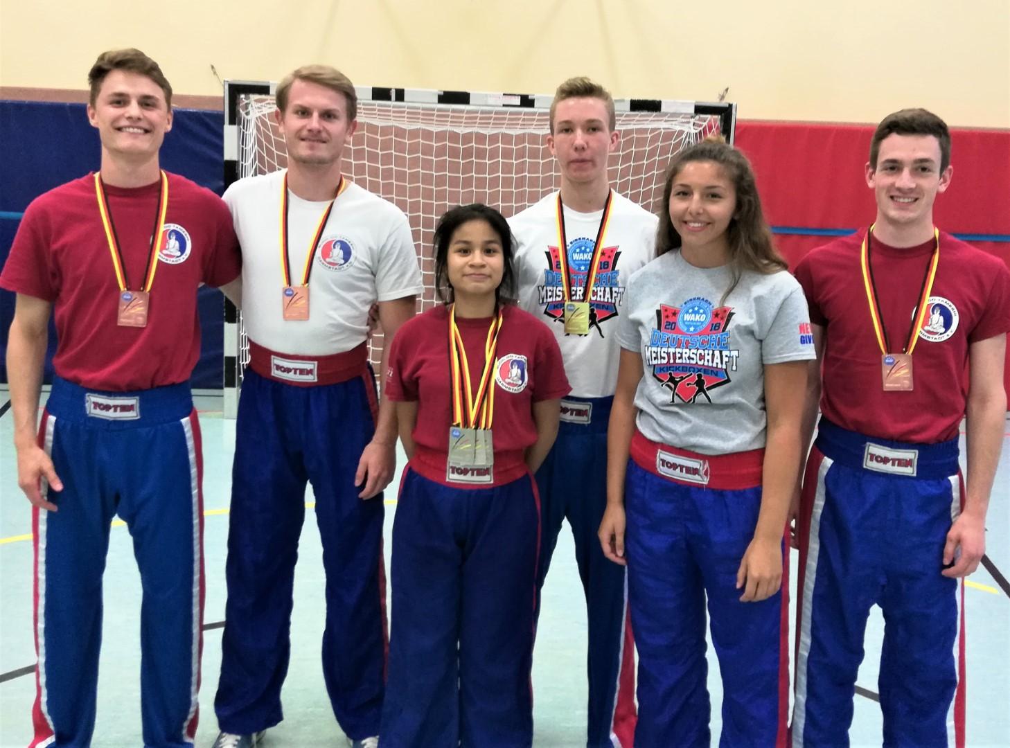Erfolgreiches BDT Team: 4x Gold, 5x Silber, 6x Bronze, 1x 5.Platz