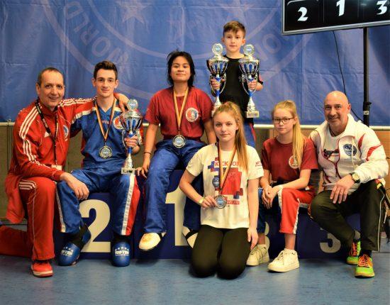 Erfolgreiches BDT Team: 4x Gold, 3x Silber und 2x Bronze
