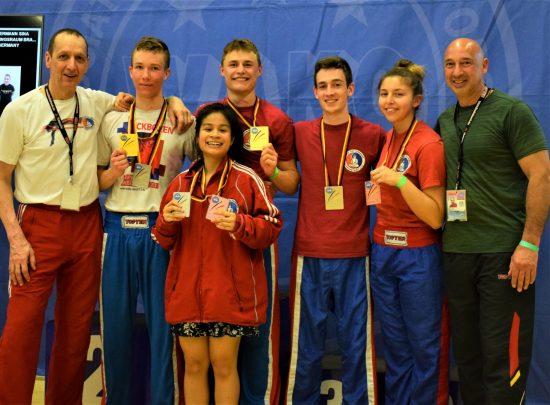 Erfolgreiches BDT Team – 5x Gold / 5x Silber / 3x Bronze