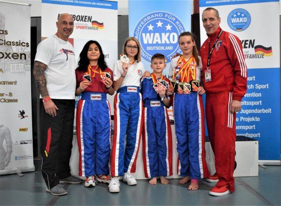 Erfolgreiches BDT Team: 5x Gold, 4x Silber, 1x Bronze