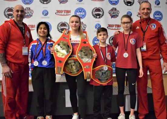 Erfolreiches BDT Team: 4x Gold, 4x Silber und 1x Bronze