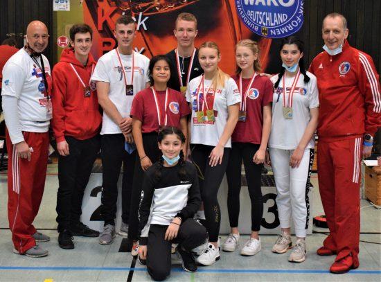 Ohne Maske - Erfolgreiches BDT Team: 4x Gold, 6x Silber, 4x Bronze
