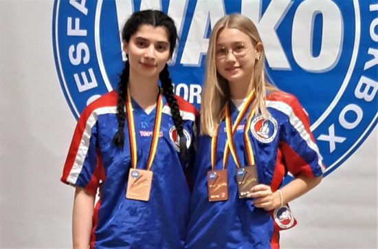 Rana + Antonia starten U19 und gewinnen 1x Silber und 2x Bronze