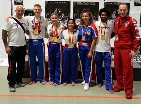 Erfolgreiche BDT Team: 11 Medaillen – 3x Gold / 4x Silber / 4x Bronze